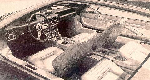 Lamborghini Marzal Interior Lamborghini Marzal Interior