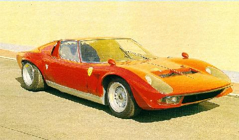 Lamborghini Miura Jota Bob Wallaces Ultra Light (1970)