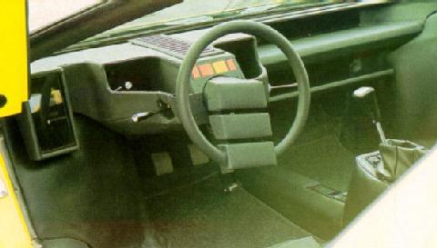 Lamborghini Countach Prototype No 1 Interior ...