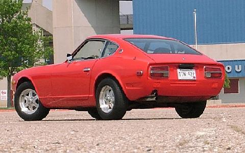Datsun 240Z Red RVl   (1973)