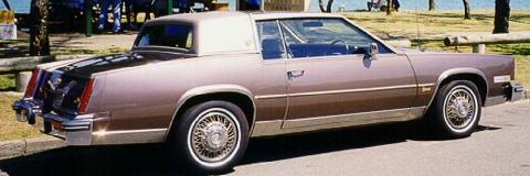 Cadillac Eldorado Biarritz Antique Rose RVr   (1980)