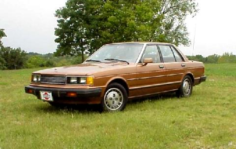 Datsun 810 Maxima Brown FVl   (1981)