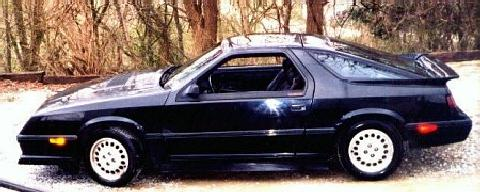 Dodge Daytona TurboZ Black SVl   (1984)