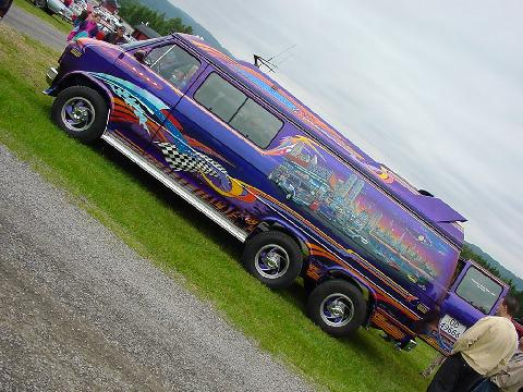 198x Chevy Van, STARCRUISER, Extremely Customized, Side