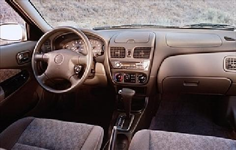 2001 Nissan Sentra Gxe 4d Dash Picture Gallery Motorbase