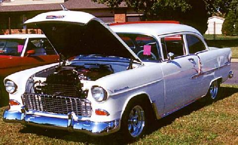 Chevy 2dr Sedan F (1955)