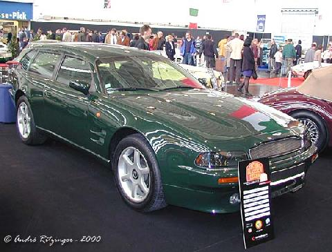 Aston Martin V8 Shooting Brake 1997 Front three quarter view