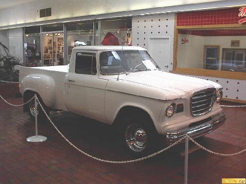 Stude 1963 Champ Pickup Wht Rsfvw