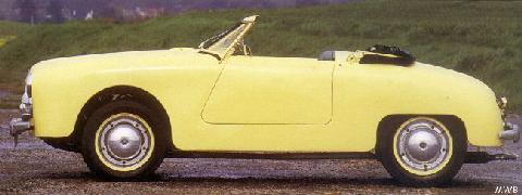 Panhard Junior Roadster 5 Mwb  (1953)