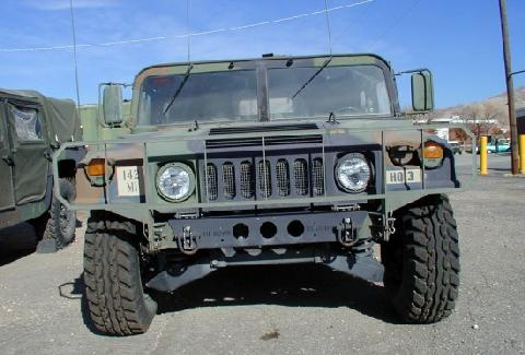 AM General HMMWV A1 Camo Green FV   (1989)