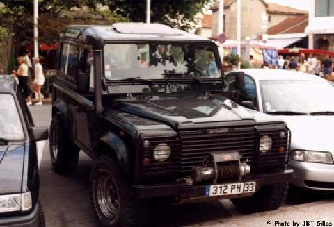 Land Rover Defender TD5 Winch And Schnorkel (1999)