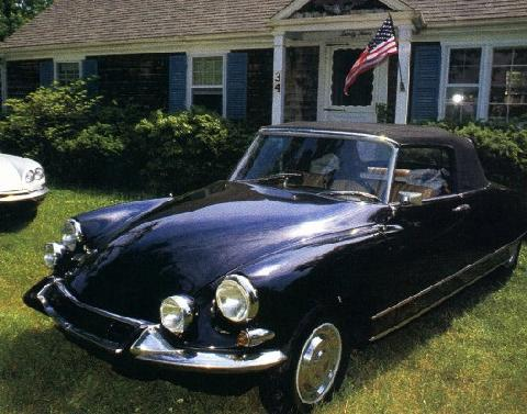 Citron DS Cabriolet U.S. Version 1 (1967)
