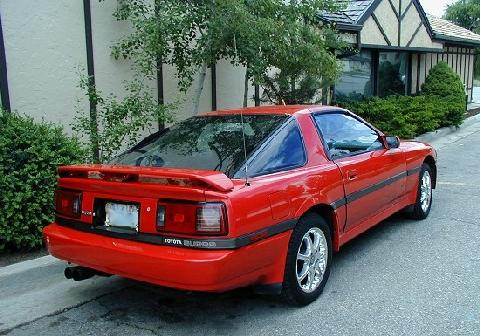 Toyota Supra Red >> Toyota Supra Red RVr (1990) - Picture Gallery - Motorbase