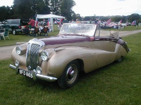 UK JEC 1952 Daimler DB 18 Sports Special