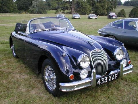 UK JEC 1961 Jaguar XK150 DHC