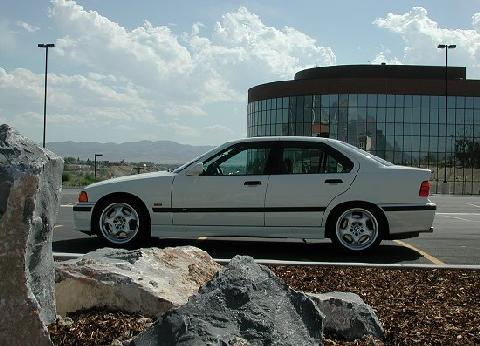 BMW M3 White SVl 2   (1997)