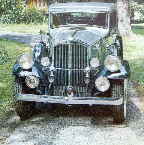 Pierce Arrow Model 54brougham Frt (1932)