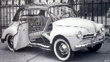 Renault 4cv Panoramique By Mialle Mwb  (1954)