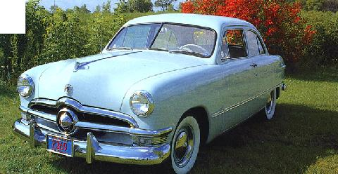 Ford Custom Tudor Coupe (1950)