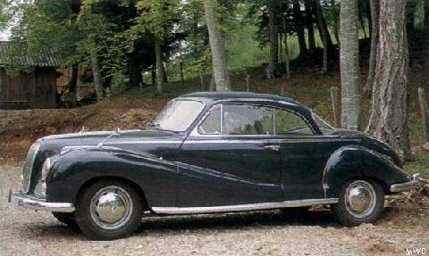 BMW 502 Coupe Mwb  (1955)