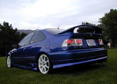 Honda Civic Si Blue RVl (1999) - Picture Gallery - Motorbase