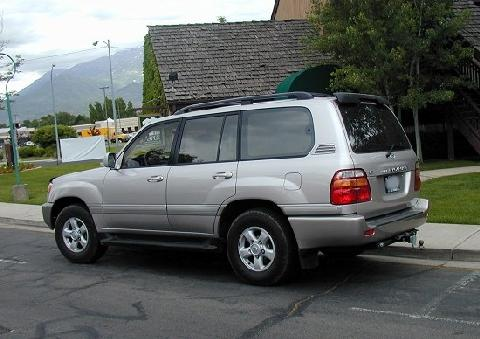 2000 Toyota Land Cruiser Silver RVl - Picture Gallery