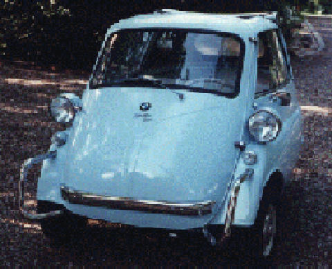 BMW Isetta (white bodywork)