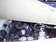 Rolls Royce Silver Cloud III engine bay