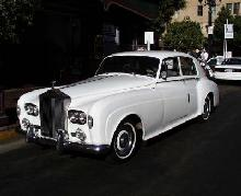 Rolls Royce Silver Cloud III (front view)