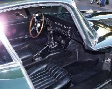 Jaguar E-Type FHC(1969, black bodywork,interior)