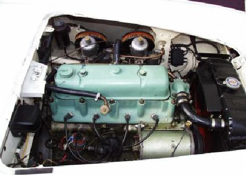 Austin Healey 100/4 engine