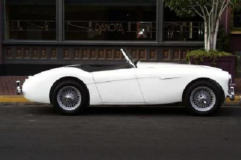 Austin Healey 100/4 side view