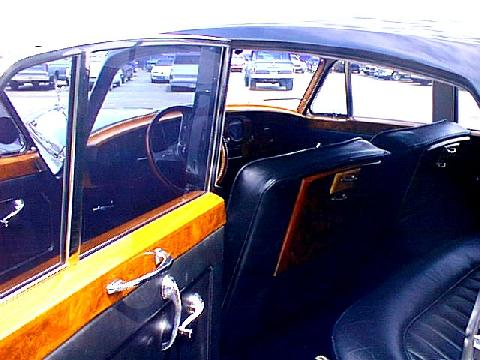 Rolls Royce Silver Cloud interior (1956 car)