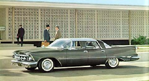 Imperial Crown Southampton 4 door, Grey (1959)