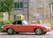 Jaguar E-type Series I  4.2 litre (1965, side view)