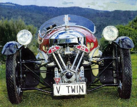 Morgan Three Wheeler,1937 (Front view)