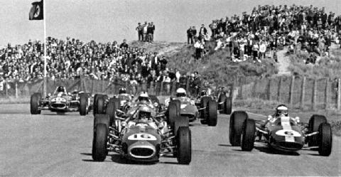 1966 dutch gp   j.brabham, j.clark