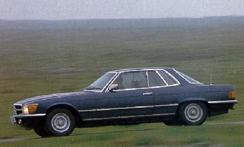 Std 1975 mercedes benz 450slc for Mercedes benz 350 slc