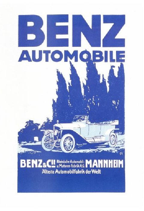 Mercedes Advertisment (pre-war)