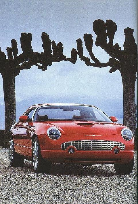 1999 Thunderbird Coupe Cnvt Red Frv Ruggles