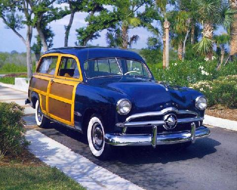 49ford Woodie Wagon