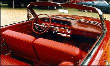 Chevrolet Impala Convertible interior (1963)
