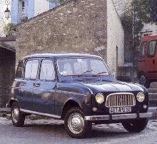 Renault 4 export model (1965, front view)