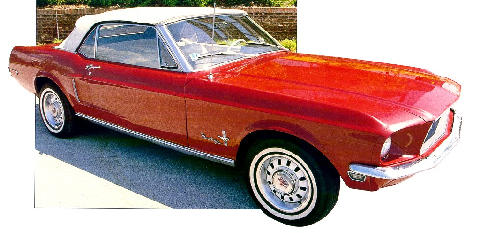 Ford Mustang Convertible (1968)