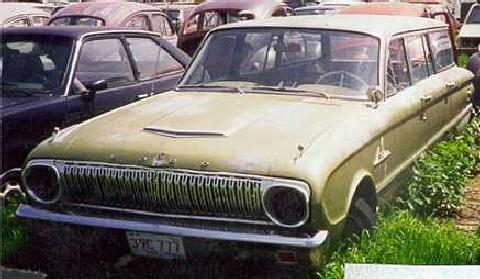 Ford falconwagon Project (1963)