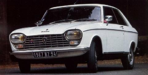 Peugeot 204 Coupe (1968)
