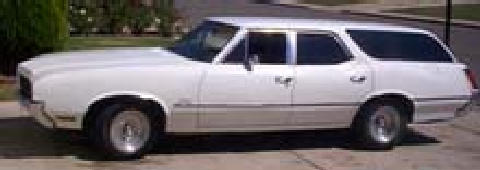 cutlasswagon White (1970)