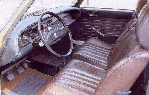 Peugeot 304 S Coupe (1973, Interior)