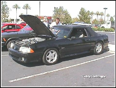 Ford 1992 Mustang Cnvt Coupe Blk Lfv
