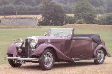 Bentley 3.5 Litre Tourer (1934)